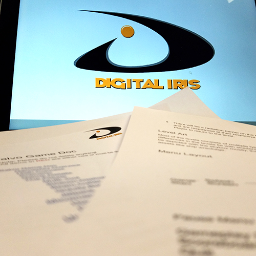 Digital Iris game Planning Image