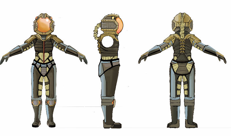 Salvo Female Character Concept