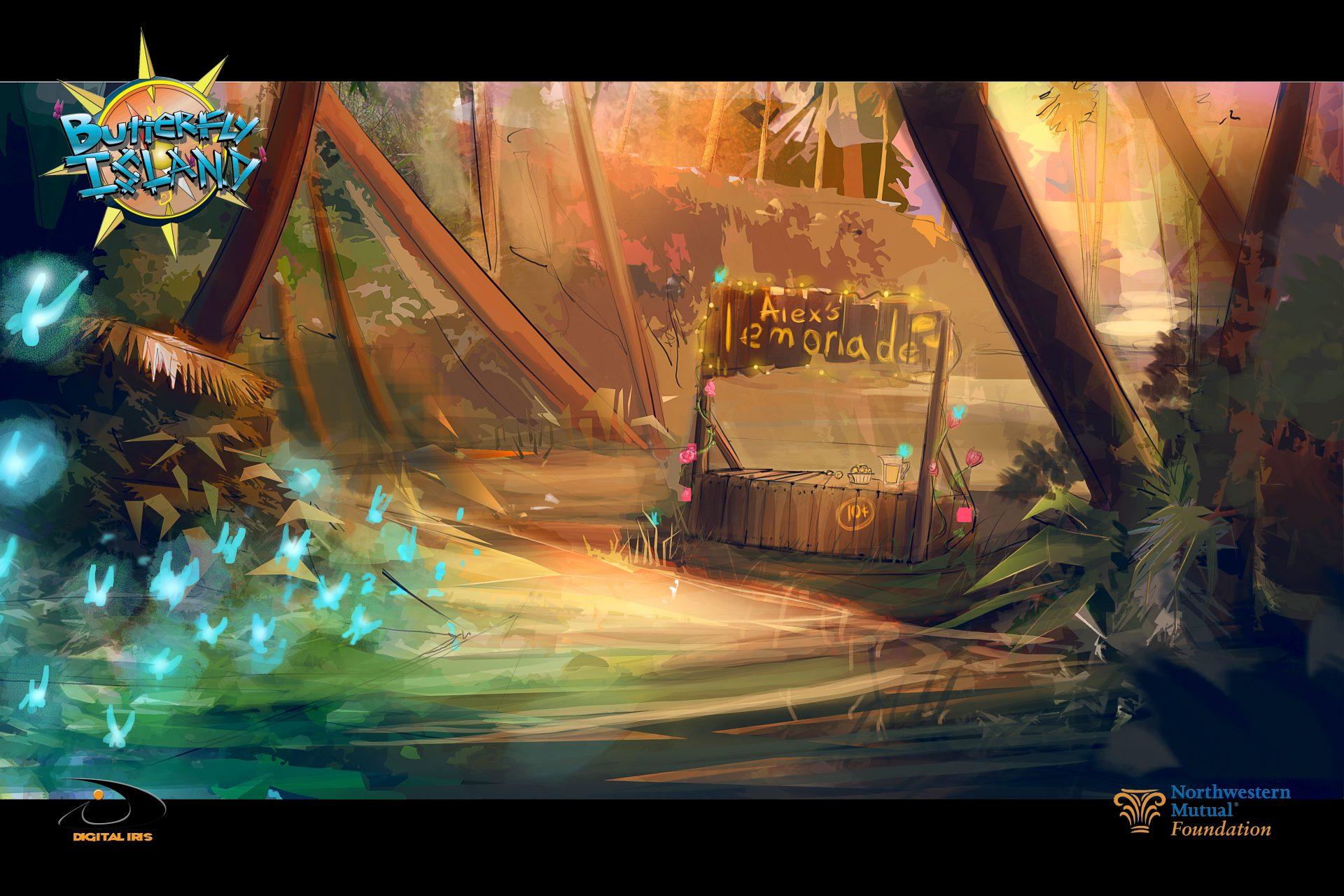 ButterflyIsland Poster LEMONADE