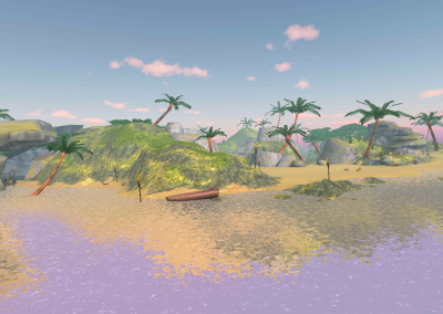 Butterfly Island Samsung Gear VR Virtual Reality Game Screenshot